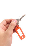 Key in hand. Royalty Free Stock Images