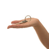 Key on hand Stock Photography