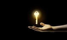 Key in hand Stock Photo