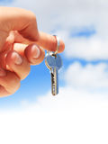 Key in hand. Stock Photography
