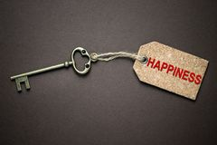 Key to happiness Royalty Free Stock Image