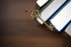 Knowledge is the key to success Royalty Free Stock Photo