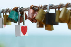 Key of heart love Royalty Free Stock Photo