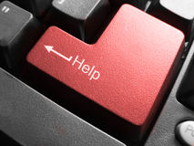 key Help in macro Royalty Free Stock Photos
