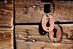 Key-hole. Royalty Free Stock Photography