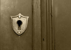 Key Hole Stock Photo