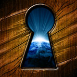 Key hole Stock Photography