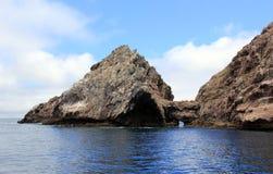 Key Hole at Los Coronados Islands. The Key Hole at Los Coronados Islands in Baja California, Mexico Royalty Free Stock Image