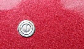Key Hole on an Old Vintage Car Door. A Key Hole on an Old Vintage Car Door stock photos