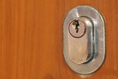 Key hole for pattern Royalty Free Stock Images