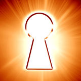 Key hole Royalty Free Stock Image