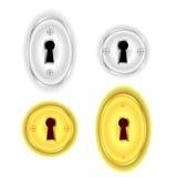 Key Holes Stock Images