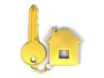 Key with home Stock Photos