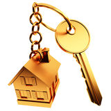 Key with home Stock Photography