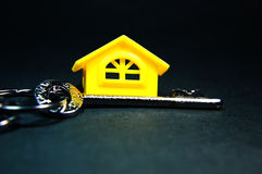 Key and Home Stock Photography