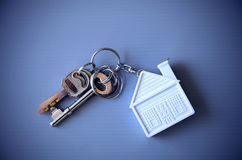 Key  home. Home is a dream of many people who want to have a home of their own Royalty Free Stock Image