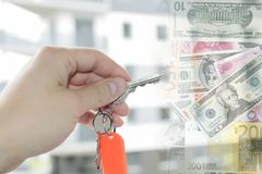 Key for home Stock Images