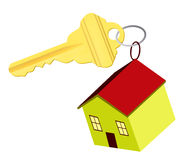 Key of house Stock Images