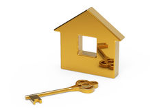 Key and house Royalty Free Stock Photography