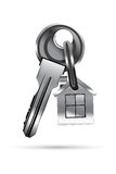 Key with house Stock Photo