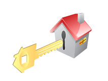 Key for house Stock Photography