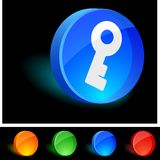 Key Icon. Stock Photos