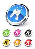 Key icon Stock Photo