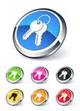 Key icon Stock Photo