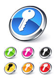 Key icon royalty free illustration