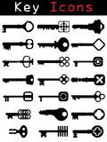 Key Icon set Royalty Free Stock Photos