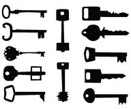 Key icon set Royalty Free Stock Photography