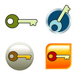 Key Icons Stock Images