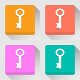 Key icons great for any use. Vector EPS10. Stock Images