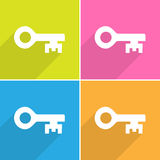 Key icons set Vector EPS10, Great for any use. Stock Photos