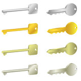 Key icons Royalty Free Stock Image