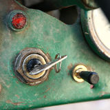 Key in the ignition Royalty Free Stock Image