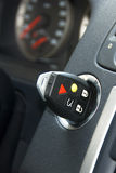 Key in ignition Stock Image