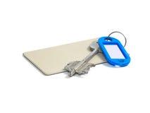 Key and key card Stock Photo