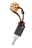 Key with key holder Royalty Free Stock Photography