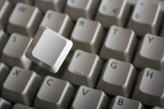 Key from keyboard Stock Photos