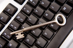 Key on keyboard Royalty Free Stock Images