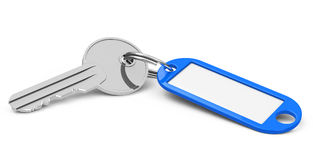Key with keychain Stock Image