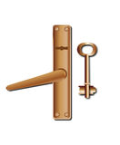 Key and keyhole Royalty Free Stock Photos