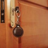 Key in keyhole Royalty Free Stock Photo