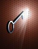 Key and Keyhole Royalty Free Stock Images