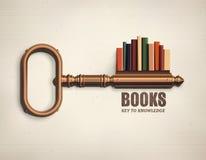 key kunskap till stock illustrationer