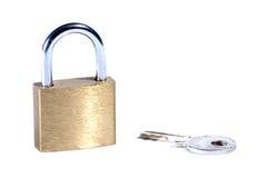 key lås Royaltyfri Bild