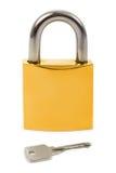 key lås arkivfoto