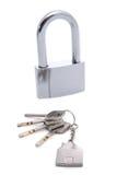 key låscirkel Royaltyfri Foto