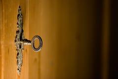 key låsserie Royaltyfri Foto